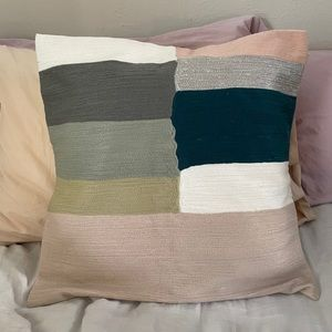 West Elm Colorblock Pillowcase